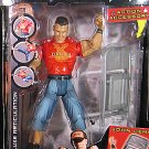 WWE Jakks Pacific Deluxe Aggression 19 John Cena Action Figure with Face Print Chair New