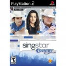 SingStar Country (Stand Alone) for Sony Playstation 2 NEW PS2 GAME