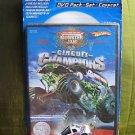 Mattel Hot Wheels Monster Jam Circuit Champions DVD Pack - with Madusa VEHICLE INCLUDED NEW
