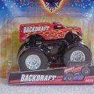 Mattel Hot Wheels Monster Jam BACKDRAFT #35/75 Truck Scale 1:64 NEW