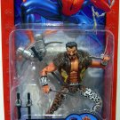 Toy Biz  Spider Man KRAVEN ( Classic ) SERIES 6 Action Figure with WITH SPIDER-TRAP BOLO GUN NEW