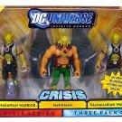 Mattel DC Universe Infinite Heroes Crisis Action Figure 3-Pack Hawkman & 2 Thangarian Warriors NEW