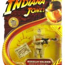 Hasbro Indiana Jones Movie Action Figure Series 2 Russian Soldier [ Kingdom of the Crystal Skull ]