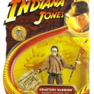 Hasbro Indiana Jones Movie Action Figure Series 2 Cemetery Warrior [ Kingdom of the Crystal Skull ]