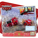 Disney Cars Mini Adventures Holiday Special Exclusive Radiator Springs Fire Department Red & Lizzie
