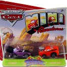 Disney Pixar CARS Movie Toy Mini Adventures Tunerz Boost & Snot Rod World of Cars WOC NEW