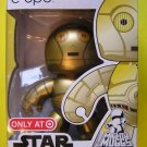 Hasbro Star Wars Mighty Muggs Target Exclusive Vinyl Action Figure C-3PO The Protocol DROID NEW