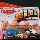 Disney Pixar CARS Movie Toy Mini Adventures Race Rods RAMONE & SHERIFF World of Cars WOC NEW