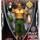 WWE Jakks Pacific Wrestling Pay Per View PPV 14 John Cena Cyber Sunday  Action Figure NEW