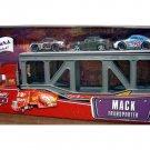 Disney Pixar CARS Movie Die Cast Mack Transporter with Bumper Save, Bob Cutlass and Nitroade 3-Pack