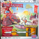 Mega Bloks King Arthur Attack MicroMotion Action Gawain Dragon Duel Playset 96113 NEW