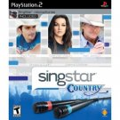 SingStar Country Bundle for Sony Playstation 2 ( Singstar Microphones included ) NEW PS2 GAME