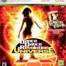 DDR Series Dance Dance Revolution Universe Bundle (game & dance pad) for Microsoft Xbox 360 NEW