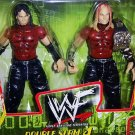 WWE WWF TNA Wrestlemania Action Figure 2-Pack Double Slam 4 The Hardy Boyz [ Matt and & Jeff Hardy]