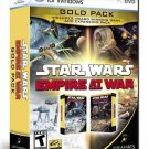 Star Wars Empire at War Gold Pack ( PC Games ) NEW DVD ROM