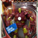 Hasbro Marvel Iron Man Movie Action Figure Battle Monger [ Red & Gold ] Concept Series New