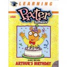 Fisher Price Learning Pixter Arthur's Birthday Software Marc Brown's Arthur NEW