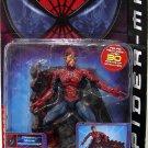 Toy Biz Movie Battle Ravaged Spider-Man with Wall Display Base Action Figure! NEW