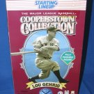 Hasbro 1996 MLB Cooperstown Collection LOU GEHRIG 12 Inch Figure Collector Limited Edition # 486644