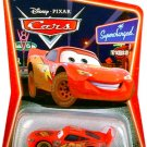Disney Pixar Cars Animated Movie 1:55 Die Cast Series 2 Supercharged Dirt Track McQueen Mattel New