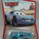 DISNEY PIXAR CARS Animated Movie Die Cast Blue Dinoco Lightning McQueen SERIES 1 DESERT Background