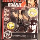 WWE Deluxe Build N Brawl Series 1 Mini 4 Inch Action Figure Undertaker with Ring Base Piece New