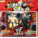 WWF WWE Summer Slam '99 Action Figure 2-Pack 2 Tuff 4 Big BossMan Vs. Stone Cold Steve Austin New