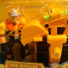 Fisher Price Rescue Heroes Mobile Force - Rip Rockafeller & Scoop Action Figure NEW toy