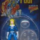 Toy Biz Fantastic Four F4 Invisible Woman Painted Action Figure with Invisible Force Shield NEW