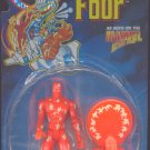 Toy Biz Fantastic Four F4 Human Torch Glow in the Dark Flames Action Figure with Catapult Launcher