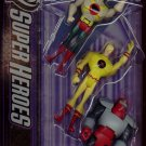 Mattel DC Super Heroes Justice League Action Figure 3-Pack Hawkman, Reverse Flash & Rocket Red