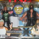 Marvel TNA Wrestling Total Nonstop Action Figure 2-pack Series 2 Destination X Jeff Hardy vs Abyss