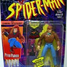 Toy Biz Spider Man from The New Animated Series Peter Parker Action Figure with Camera Accesory New