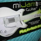 Blue Box MiJam Electronic Mi Jam Guitar, Jam with your iPod Mp3 player NEW