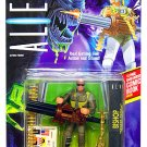 Aliens The Movie: Space Marine Bishop Android Action figure Kenner with Dark Horse Mini Comic Book