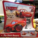 DISNEY PIXAR CARS Animated Movie Rip Stick Racer Lightning McQueen 1st Series Desert Background NEW