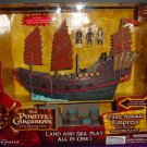 Pirates of the Caribbean At World's End Micro Ship Pirate Armada Empress with Singapore Playset