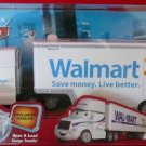 World of Cars Race O Rama Disney Pixar CARS Die Cast WALMART Exclusive Hauler Wally Truck WOC New