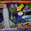 Matchbox Mega Rig Building System Space Shuttle Mission Playset by Mattel NEW