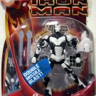 Hasbro Marvel Iron Man Movie Satellite Armor Iron Man White Variant with Double Missile Blast New