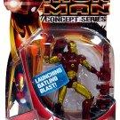 Hasbro Marvel Iron Man Movie Action Figure Hot Zone Iron Man Concept Series New