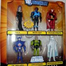 Mattel DC Universe Justice League Unlimited Exclusive Action Figure 6-Pack Mutiny in the Ranks NEW