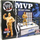 WWE Jakks Pacific Exclusive MVP Lounge Ring with MVP Action Figure SmackDown NEW