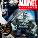 "Hasbro Marvel Universe 3 3/4"" Series 2 Action Figure Grey Hulk # 014 New"