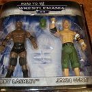 WWE Summer Slam Road to Wrestlemania 23 Exclusive Action Figure 2-Pack John Cena & Bobby Lashley New