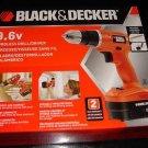 Black & Decker 9.6V Cordless Drill/Driver GC960 New