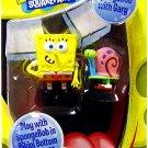 Nickelodeon Jakks Pacific SpongeBob Squarepants Mini Action Figure Spongebob with Gary the Snail NEW