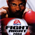 Fight Night 2004 for Sony PlayStation 2 Black Label NEW PS2 GAME