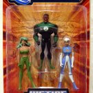 Mattel DC Universe Justice League Unlimited Fan Collection Action Figure Green Lantern, Fire & Ice