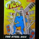 Bandai 1994 The Tick Animated The Tick the Steel Box DEATH TRAP New